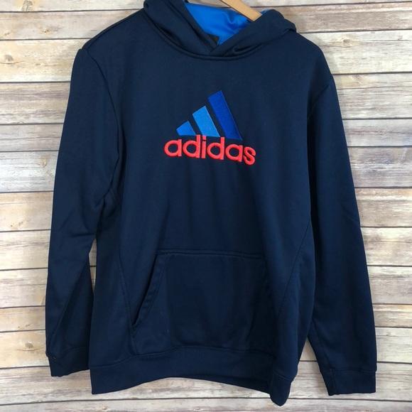 bee785163 adidas Shirts & Tops   Kids Hooded Sweatshirt Size Xl 18 0085   Poshmark